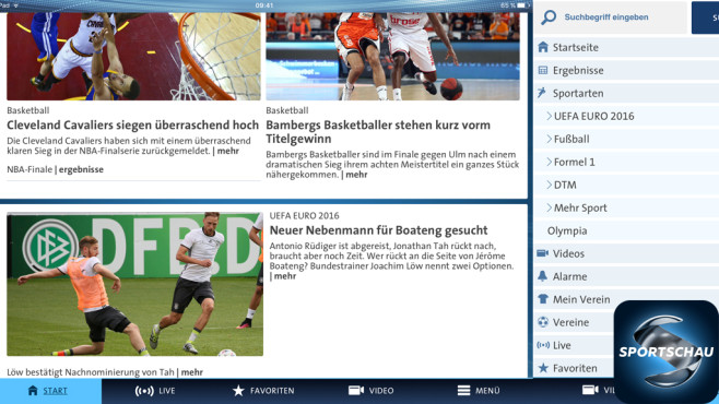 Sportschau © WDR mediagroup digital GmbH