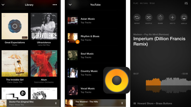 Vox Music Player © Coppertino Inc.