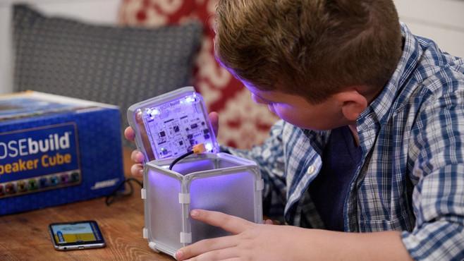 BOSEbuild Speaker Cube ©Bose