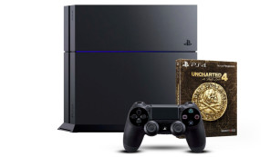 PlayStation 4 - Konsole (500GB) + Uncharted 4 - Special Edition © Amazon