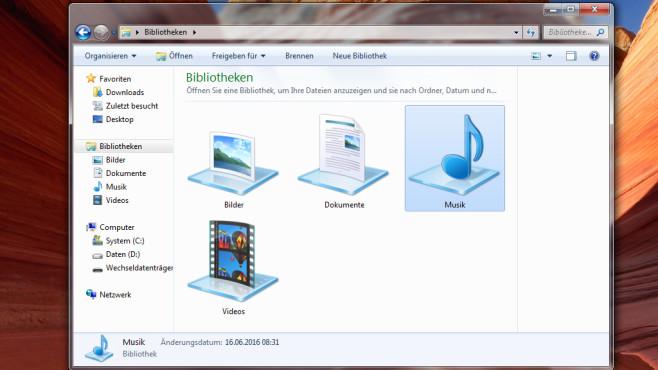 Dateien mit Bibliotheken verwalten ©COMPUTER BILD