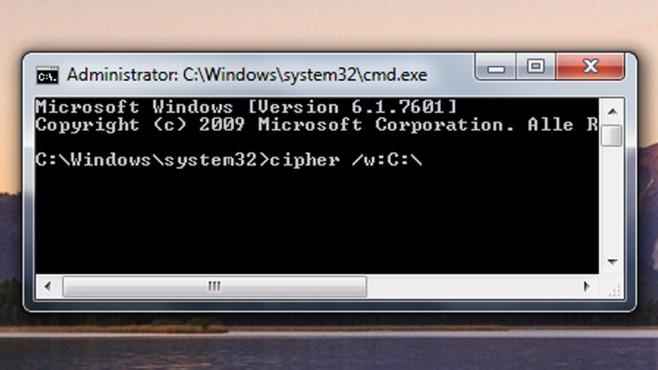 Dateien r�ckwirkend sicher l�schen ©COMPUTER BILD