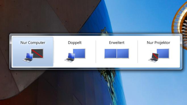 Multi-Monitor-Betrieb konfigurieren ©COMPUTER BILD