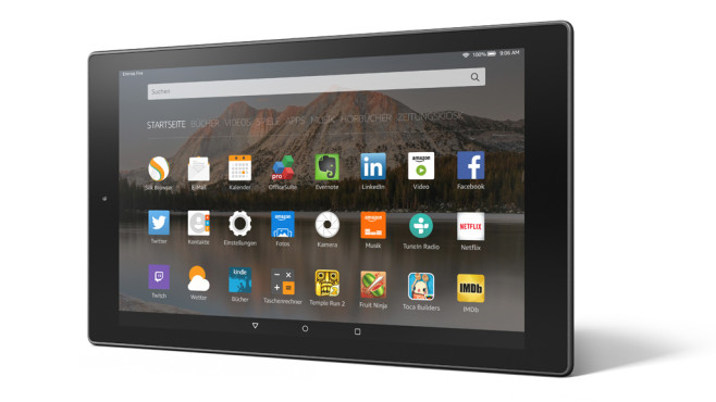 Amazon Fire HD 10 (2016) © COMPUTER BILD