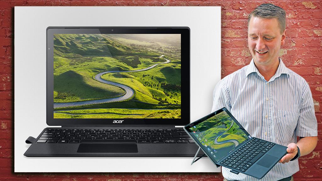 Acer Switch Alpha 12 ©Acer, �istock.com/keport, COMPUTER BILD