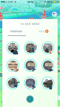 Tipp: Pokémon-Entfernung ©Niantic