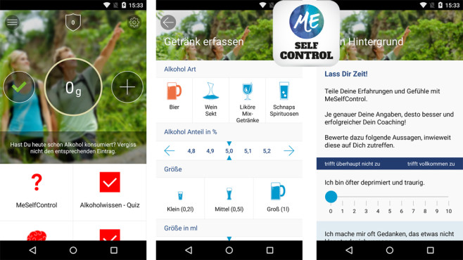 MeSelfControl ©appPeople GmbH