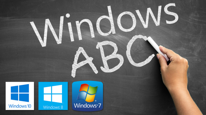 Windows von A bis Z © Microsoft, Cherries – Fotolia.com