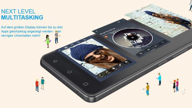 Alcatel One Touch Pixi 4 (6 Zoll) ©Alcatel