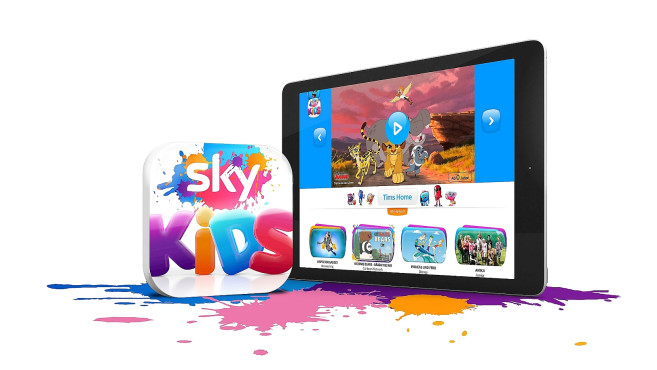 Sky Kids App ©Sky