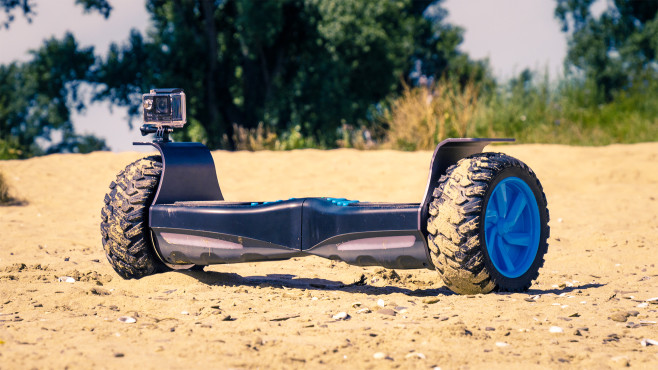 io hawk cross neues offroad hoverboard computer bild. Black Bedroom Furniture Sets. Home Design Ideas