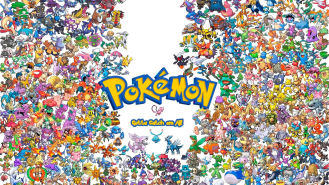 All Pokémon © Nintendo