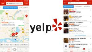 Yelp zeigt Pokestops ©yelp