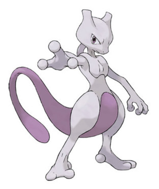Legendäre Pokémon: Mewtu © The Pokémon Company