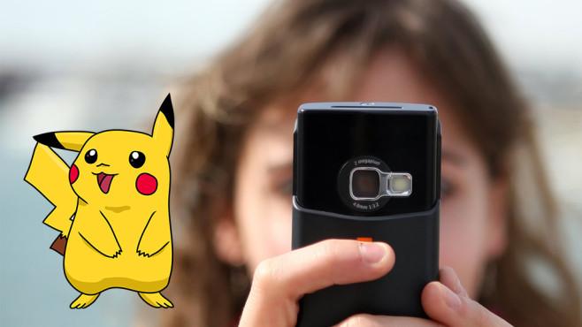 Pokemon GO Kamera ©Copyrights: Nintendo, Game Freak, Herbivore-Fotolia.com