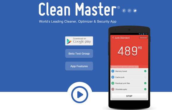 Clean Master © Cheetah Mobile