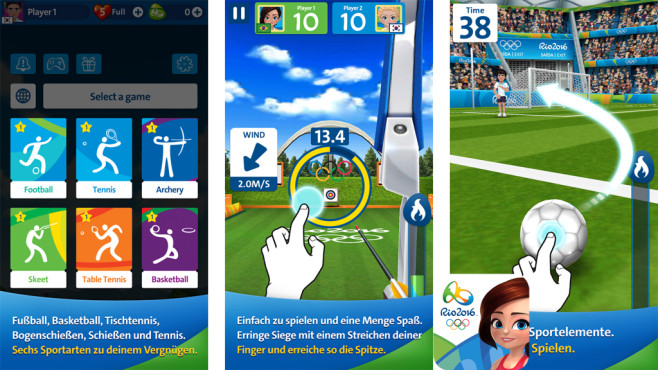 Rio 2016 Olympic Games ©Neowiz Games