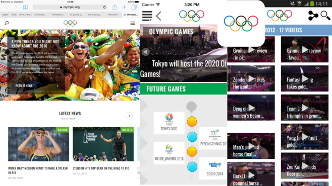 The Olympics - Official App for the Olympic Games © International Olympic Committee