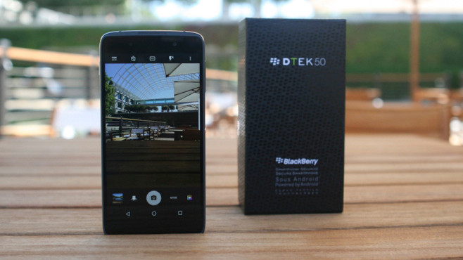 "Blackberry DTEK50: ""Sicherstes Android-Smartphone"" in Bildern © Blackberry; blog.blackberry.com"