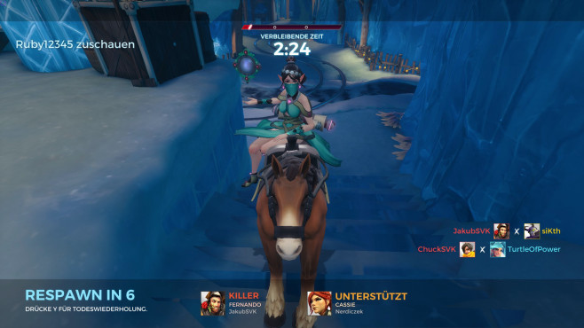 Paladins: Pferd ©Hi-Rez