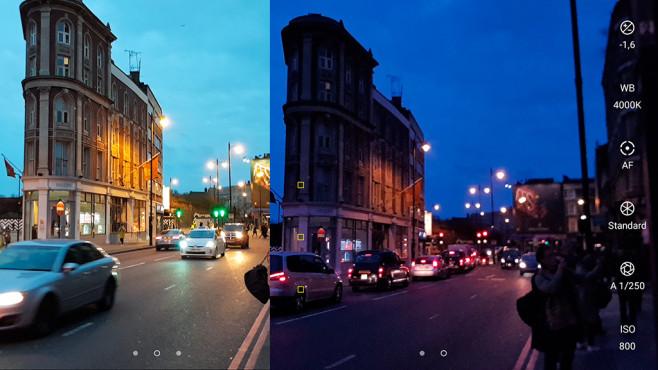 Samsung Galaxy S8: Pro Camera ©COMPUTER BILD