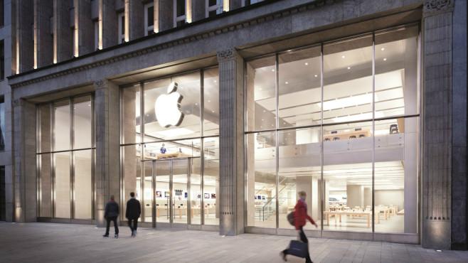 Apple Store am Jungfernstieg ©Apple Presse
