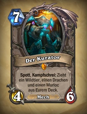 Der Kurator (Neutral) © Blizzard