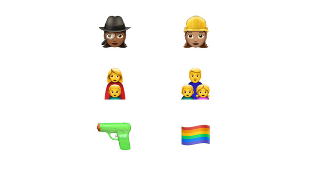 Neue Emojis ©Apple