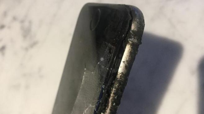 iPhone-Explosion ©Screenshot: http://www.mirror.co.uk/news/world-news/brit-mountain-biker-reveals-horrific-8540224