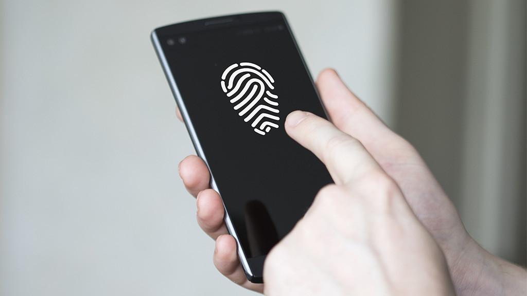 Fingerabdruckscanner Handy