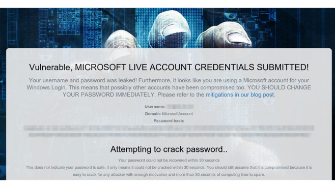 Screenshot Microsoft Hack © COMPUTER BILD