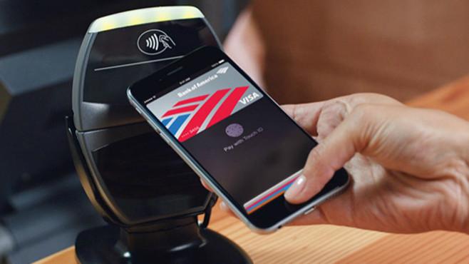 Bezahlen via NFC ©Apple