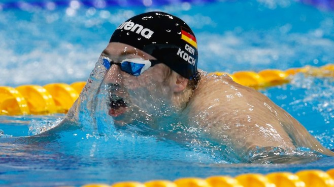 Marco Koch im Wasser © Christopher Lee/gettyimages