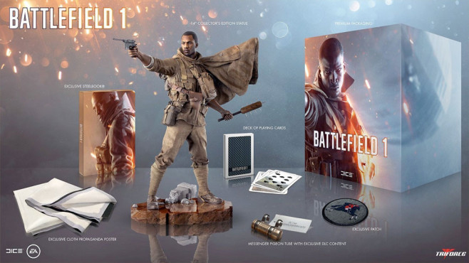 Battlefield 1: Collector's Edition © EA