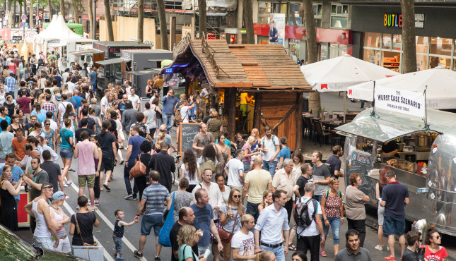 Gamescom City-Festival Streetfood © Bundesverband Interaktive Unterhaltungssoftware