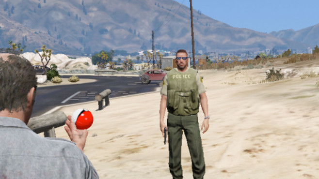 GTA 5: Poke Ball © Rockstar Games
