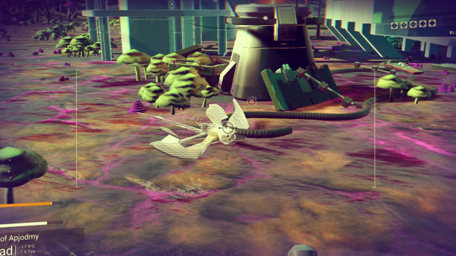 No Man's Sky fliegende Lebensformen © Hello Games