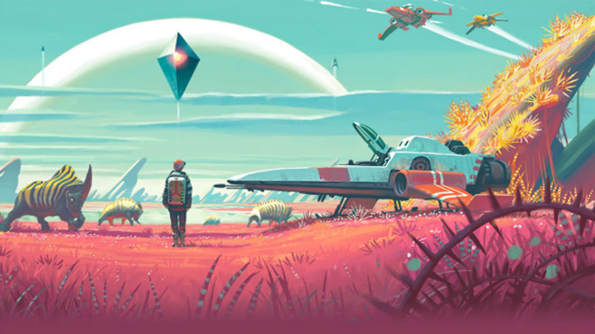 No Man's Sky: PC-Version © Hello Games