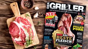 DER GRILLER: Die neue Ausgabe ist da! ©Copyright: COMPUTER BILD, ©istock.com/ivandzyuba