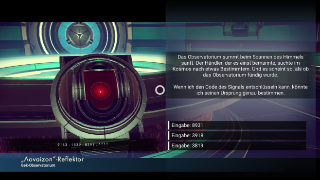 No Man's Sky - Maschine © Hello Games