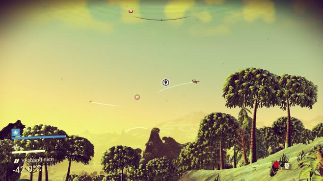 No Man's Sky - andere Raumschiffe ©Hello Games