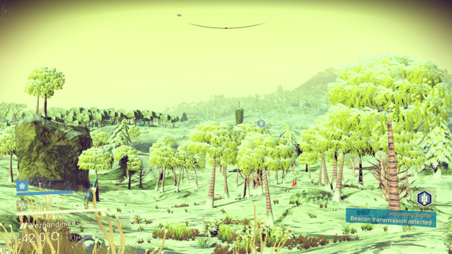 No Man's Sky - anderer Planet © Hello Games