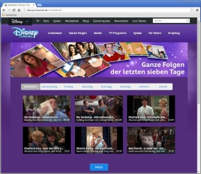 Disney-Channel-Mediathek