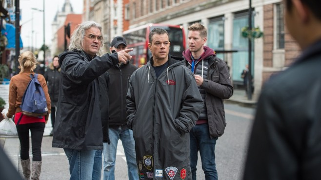 Jason Bourne: Paul Greengrass, Matt Damon, Crew © Jasin Boland