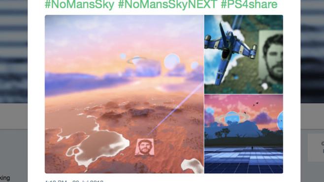 No Man's Sky: Murray-Porträt©Twitter.com