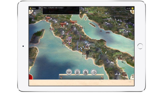Rome – Total War iPad © Feral Interactive/Sega