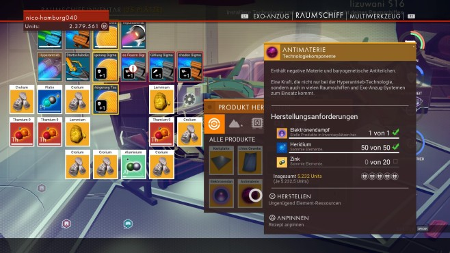 Antimaterie © Hello Games/Sony