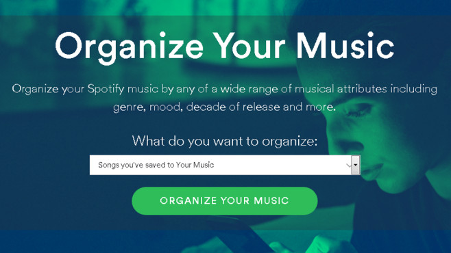 Organize Your Music © The Echo Nest/Spotify