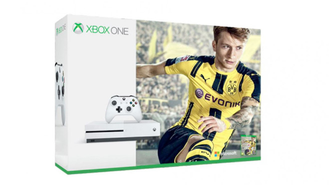 Xbox One S: FIFA-17-Bundle © Microsoft