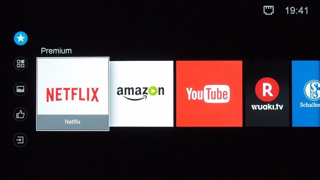 Samsung hd Kabel Virgin verstecktes Menü